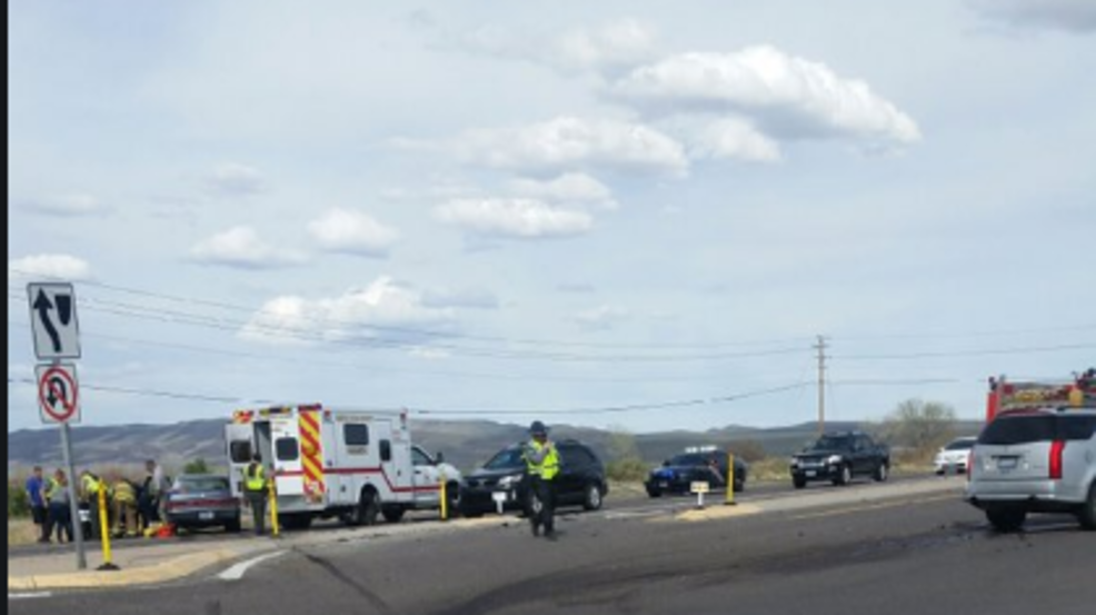 One person dead in two-vehicle crash on U S  50 | KRXI