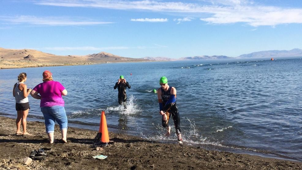 The 2018 Pyramid Lake Sprint Triathlon is hosted in Reno | KRXI