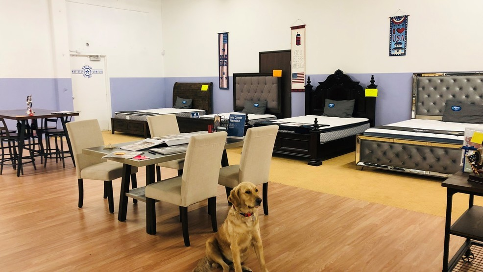 Local Mattress And Furniture Store Holds Donation Drive For Camp