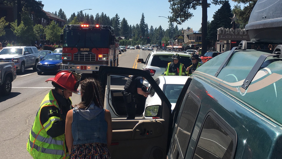South Lake Tahoe Fire & Rescue responds to crash near
