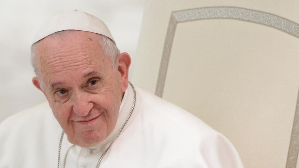 Pope Francis attends an audience with participants of a course on the  Internal Forum promoted by the Apostolic Penitentiary Court, in the Pope  Paul VI hall, ...
